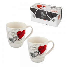 2 cups set  Love