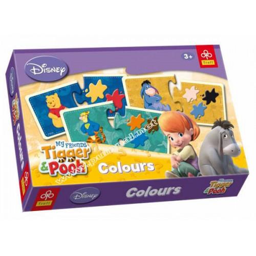Игра Мечо Пух и цветовете