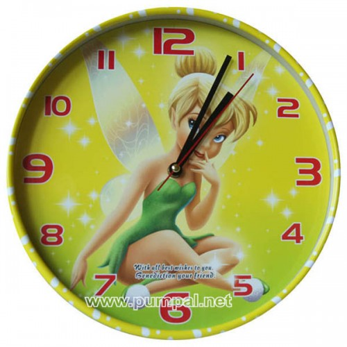Стенен часовник Тинкър бел