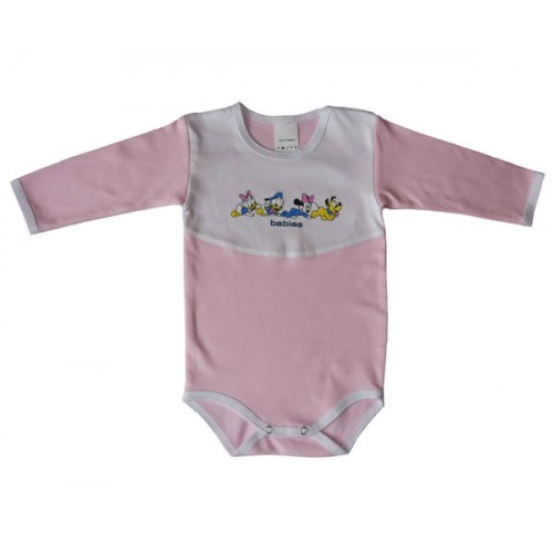 Боди Babies в розово