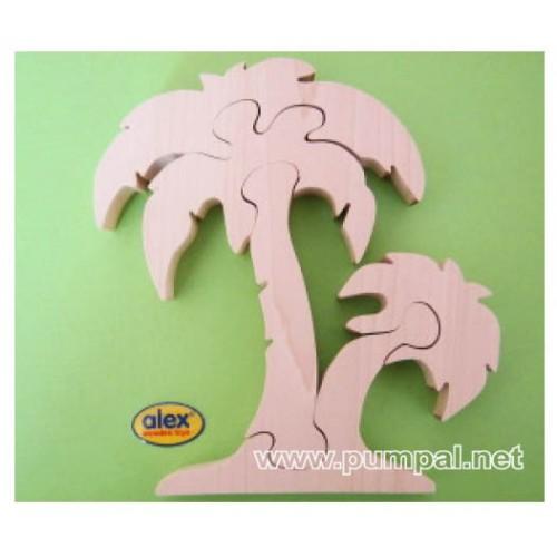 Дървен пъзел Палма