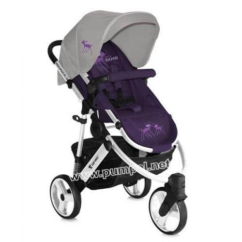 Комбинирана количка Lorelli Monza Miss Bambi 2 в 1