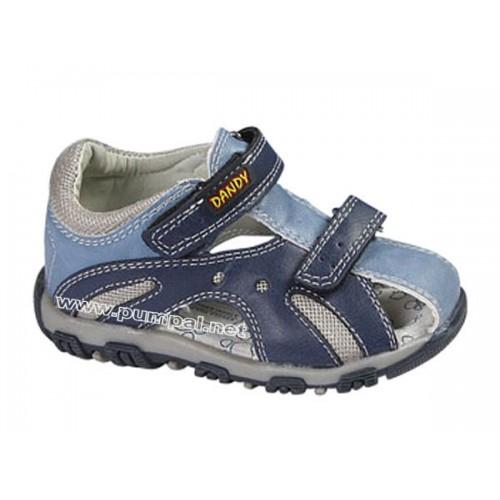 Детски сандали в синьо
