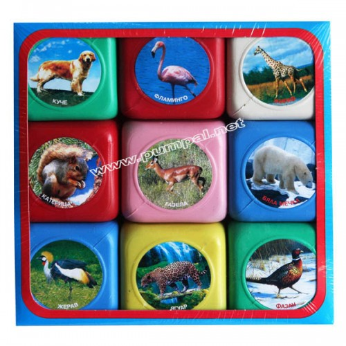 Кубчета с животни
