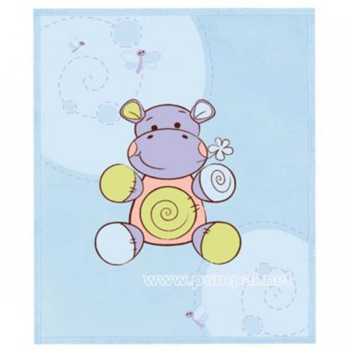 Одеало Hippo в синьо