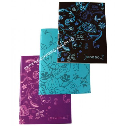Тетрадка Цветя малък формат А 5