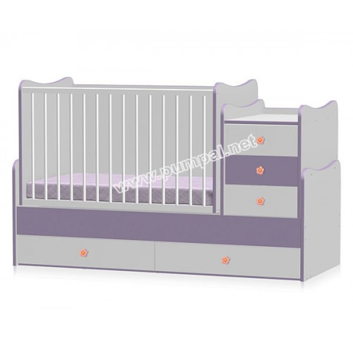 Легло - люлка Maxi Плюс Purple