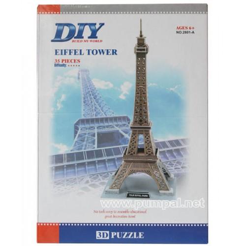 3 D Пъзел Айфелова кула