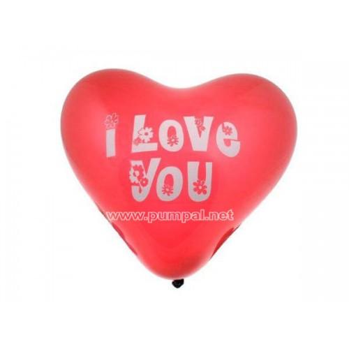 Балон сърце I love you