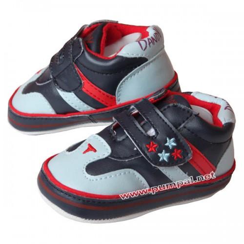 Бебешки обувки в синьо