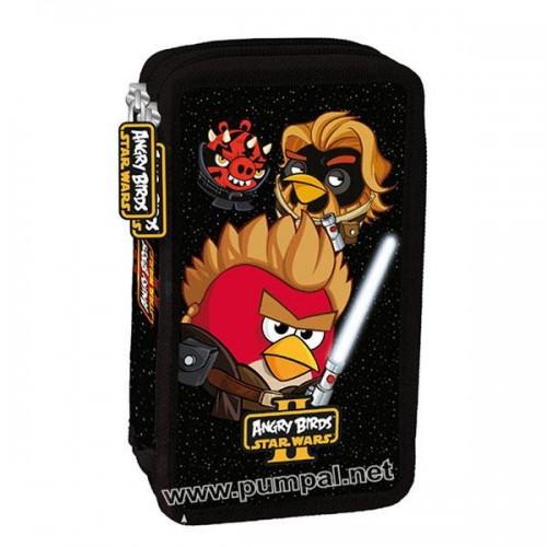 Несесер Angry Birds 2 ципа, пълен