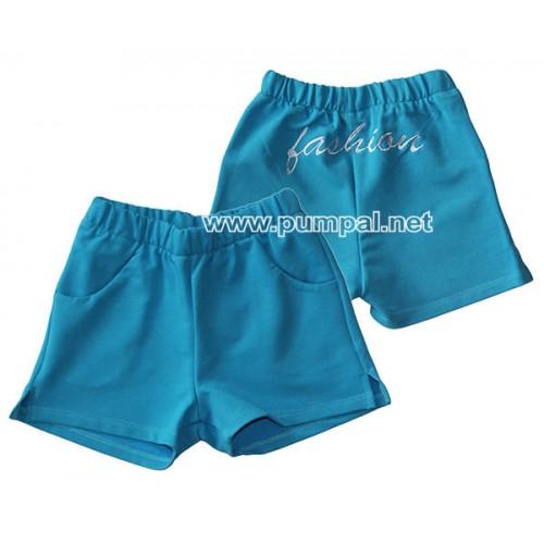 Къси сини панталонки Fashion