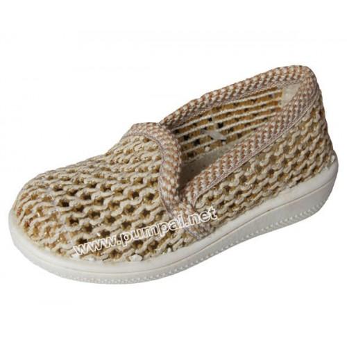 Летни плетени обувки