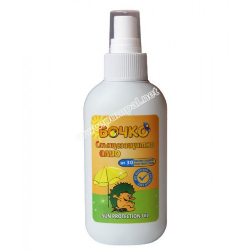 Бочко - Слънцезащитно олио SPF 30