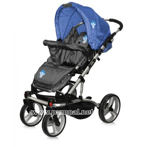 Комбинирана количка Bertoni ASTRA - Blue Babies