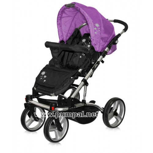 Комбинирана количка Bertoni ASTRA - Violet Dandelion