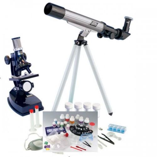 Астрономически Телескоп с Микроскоп