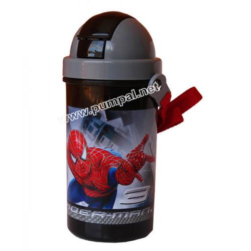 Спортна бутилка Спайдърмен