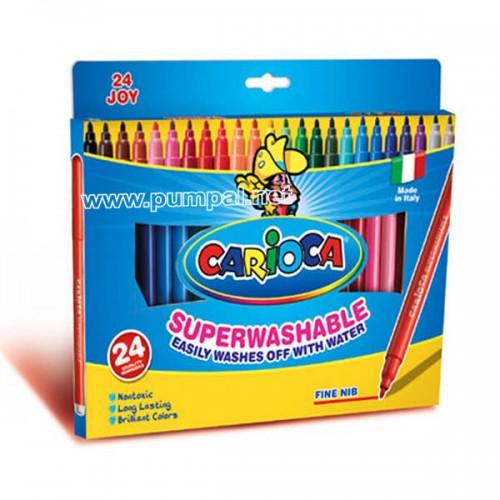 Флумастери Carioca 24 цвята