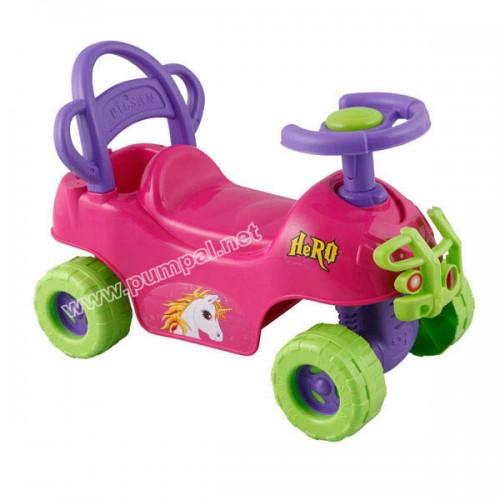 Кола за бутане ATV Hero pink