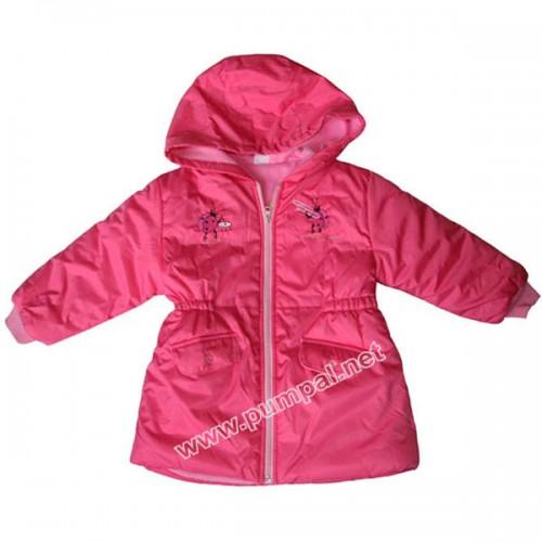 Детска шуба Калинки в розово