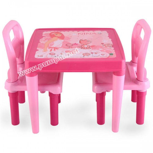 Детска Маса с два стола
