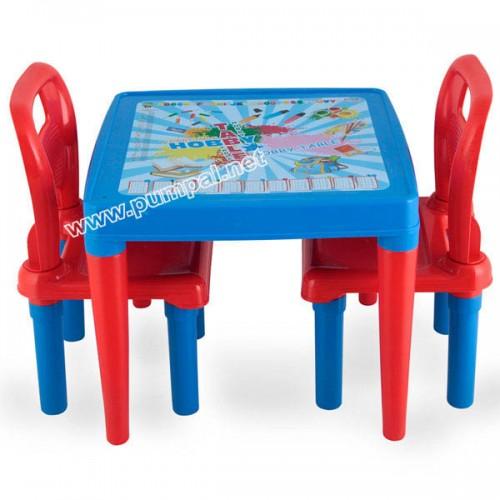 Детска Маса с два стола Blue