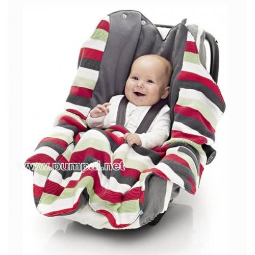 Бебешко одеало Wallaboo райе