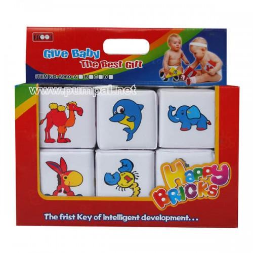 Меки кубчета за бебе
