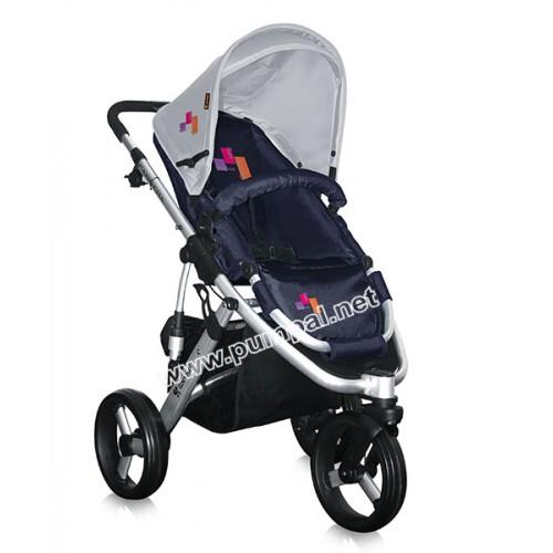 Детска количка Bertoni: Lorelli Carrera Blue Fashion