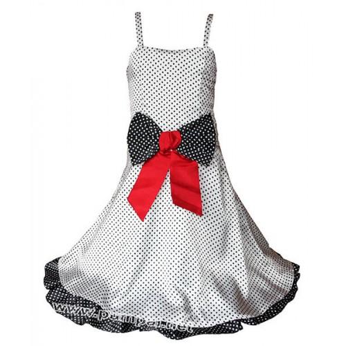 Официална рокля Точки