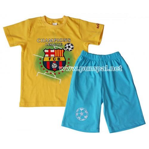 Тениска с панталонки Барселона