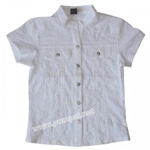 Лятна бяла риза Кокодрило