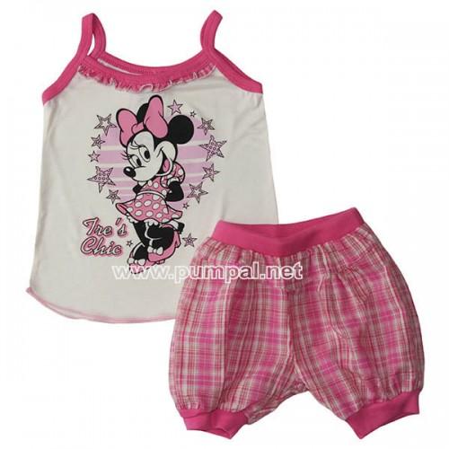 Потник с къси панталонки Minnie