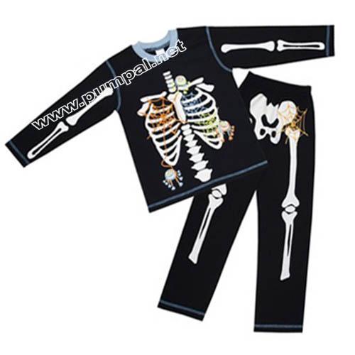Пижама Скелет