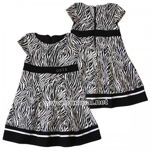 Стилна рокля Черно и Бяло