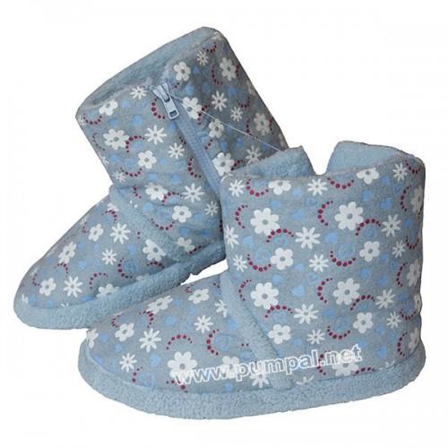 Домашни пантофи - ботушки сини