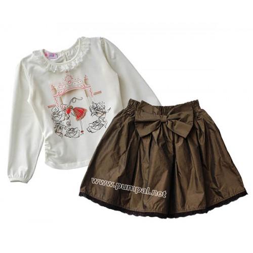 Блуза Каляска с пола от тафта