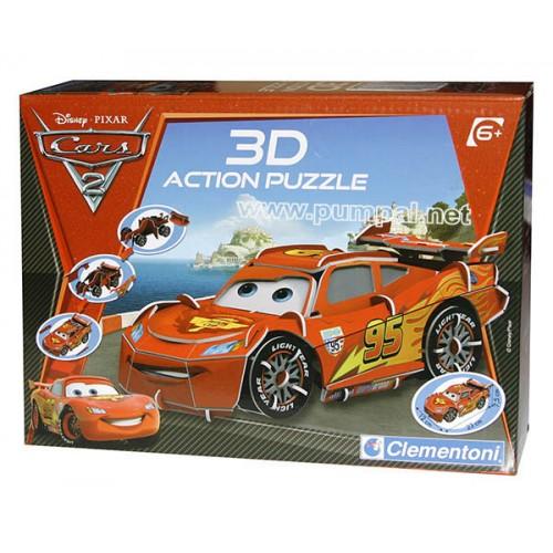 3D Пъзел Cars