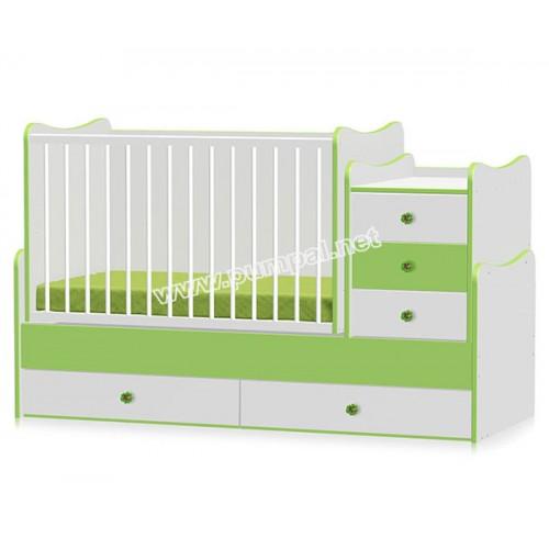 Легло - люлка Maxi Plus Green