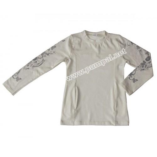 Блуза с уникален ръкав