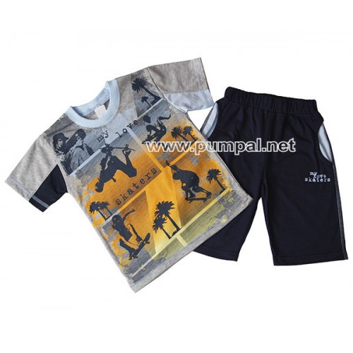 Тениска с бермуди Skaters