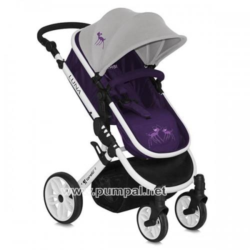 Детска комбинирана количка Luna 3 в 1 Bambi