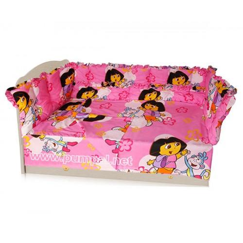 Спален комплект Дора в розово