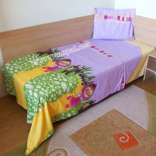 Спален комплект Маша и Мечокът