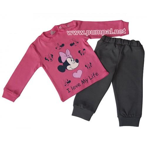 Блузка Minnie с долнище графит