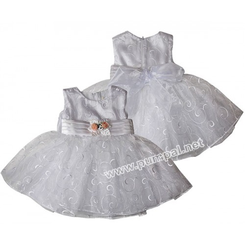Дантелена рокля за кръщене