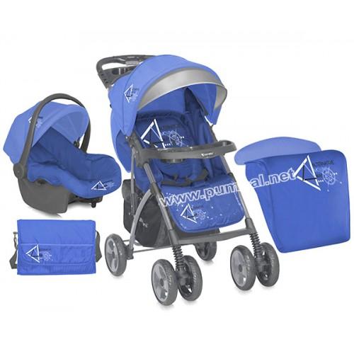 Комбинирана количка Rio Set Blue