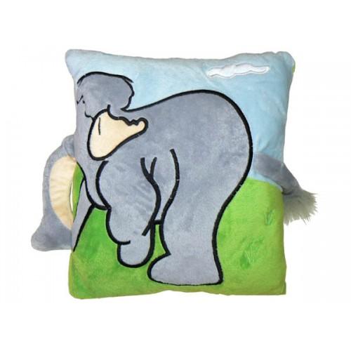 Възглавничка с дръжка Слонче