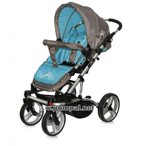 Комбинирана количка Bertoni ASTRA - Caramel